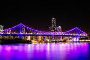 Neon Story Bridge