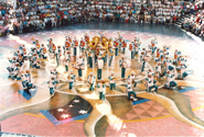 Expo City Marching Band Piazza
