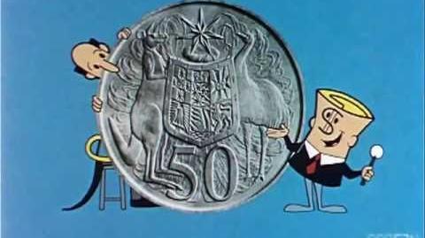 1966 Australian dollar bill infomercial
