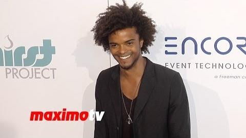 Eka Darville 5th Annual Thirst Gala Red Carpet Arrivals The Originals