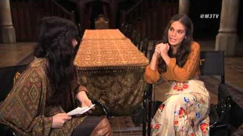 Caitlin Stasey Reign Interview Clip for M3