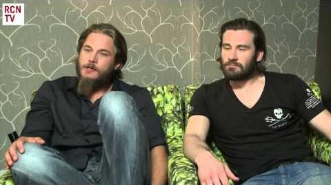 Vikings Travis Fimmel & Clive Standen Interview-0