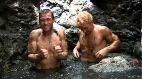 Funny Deleted Scenes from Spartacus - In The Pit - Roaches and Mud - Andy Whitfield