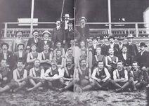 THE FIRST STURT TEAM 1901