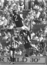 Motley markes while playing for Carlton