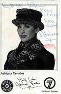 Adriana xenides autograph