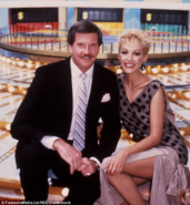 John burgess and Adriana Xenides from wheel of fortune