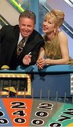 Tony Barber and Adriana xenides -wheel of fortune -1996