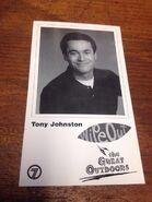 Tony johnson fan card