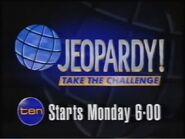 Jeopardy! Starts Monday at 6