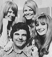 Garry meadows And Models On Price Is Right 70s