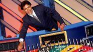 Rob elliott on the set of wheel of fortune 1997