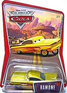 Ramone yellow world of cars single