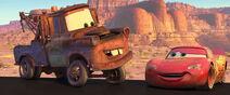 Mater and McQueen reunite