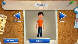 Scanned avatar