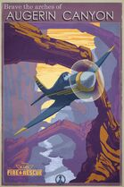 Planes-2-Fire-and-Rescue-Vintage-Concept-Art-Augerin-Canyon