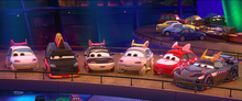 2Tokyo mater characters in cars 2