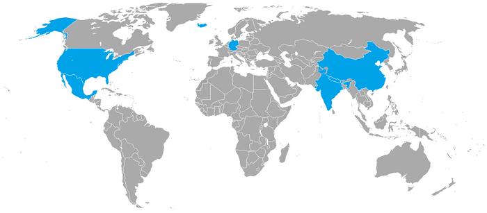 Kraje Lot Wokół Globu