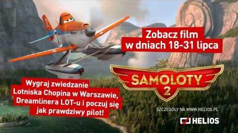 "Lotnisko Chopina partnerem promocji filmu ""Samoloty 2"""