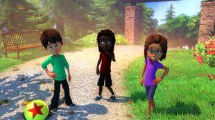 KS - Kinect Rush Snapshot - Pixar Park