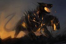Hellhound by allagar db57dkp-fullview
