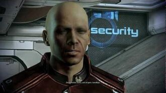 Mass Effect 3 Meeting David Archer from Overlord DLC