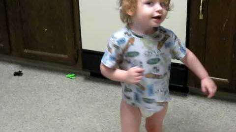 Diagnosed Autism Spinning & flapping, flapping & more spinning