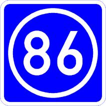 Knoten 86 blau