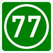 Knoten 77 grün
