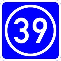 Knoten 39 blau