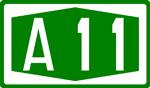 BAB A11 grün