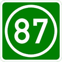 Knoten 87 grün