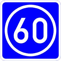 Knoten 60 blau