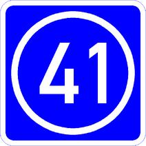 Knoten 41 blau