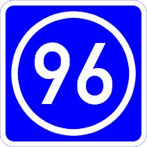 Knoten 96 blau