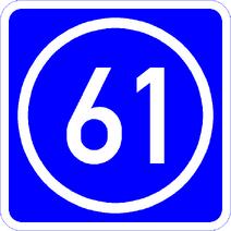 Knoten 61 blau