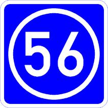 Knoten 56 blau
