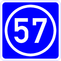 Knoten 57 blau