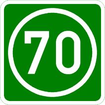 Knoten 70 grün