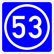 Knoten 53 blau