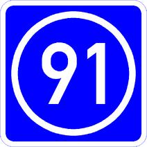 Knoten 91 blau
