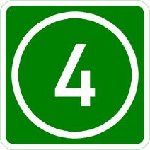 Knoten 4 grün