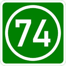 Knoten 74 grün