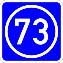 Knoten 73 blau