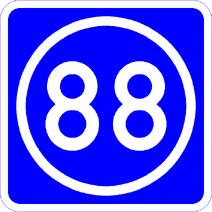 Knoten 88 blau
