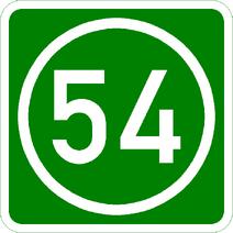 Knoten 54 grün