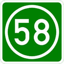 Knoten 58 grün