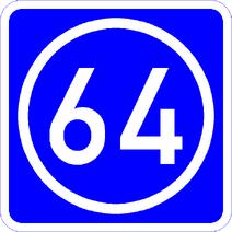 Knoten 64 blau