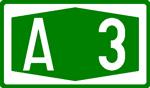 BAB A3 grün