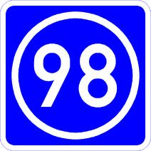 Knoten 98 blau